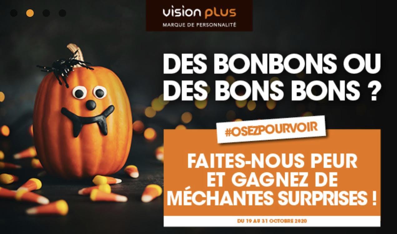 Halloween chez Vision Plus